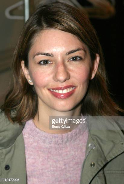 Sofia Coppola during An Evening With Bill Murray at BAM at Brooklyn Academy of Music Screening Hall in New York City New York United States