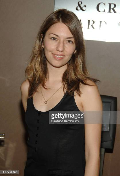 Sofia Coppola during 'Broken Flowers' New York City Premiere Inside Arrivals at Chelsea West Cinemas in New York City New York United States