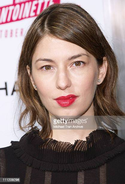 Sofia Coppola during Columbia Pictures and CHANEL Present a Special Screening of 'Marie Antoinette' at ArcLight in Hollywood California United States