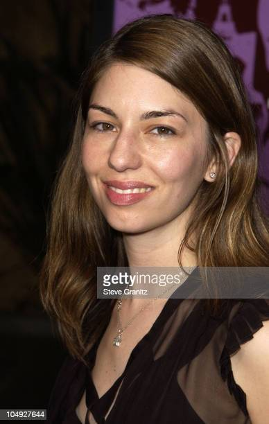 Sofia Coppola during 'CQ' Premiere Los Angeles at Egyptian Theatre in Hollywood California United States