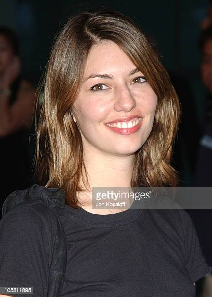 Sofia Coppola during 'Hero' Los Angeles Premiere Arrivals at The ArcLight in Hollywood California United States