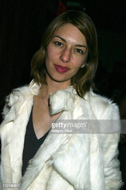Sofia Coppola during Michelle Rodriguez Hosts a Presentation of La Perla's Black Label Collection at PM in New York City New York United States