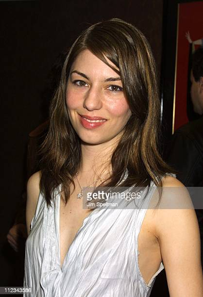 Sofia Coppola during New York Premiere of 'Human Nature' at Chelsea West Theater in New York City New York United States
