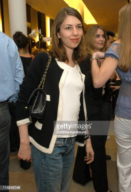 Sofia Coppola during Surf's Up at Chanel with a Party and Preview of Chanel 2003 Sport Collection at Chanel Boutique SoHo in New York City New York...
