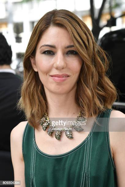 Sofia Coppola is seen arriving at Valentino fashion show during the Paris Fashion Week Haute Couture Fall/Winter 20172018 on July 5 2017 in Paris...
