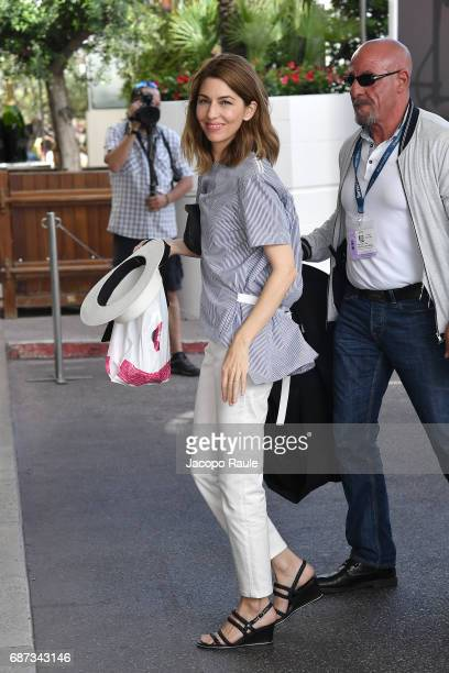 Sofia Coppola is spotted at Hotel Martinez during the 70th annual Cannes Film Festival at on May 23 2017 in Cannes France