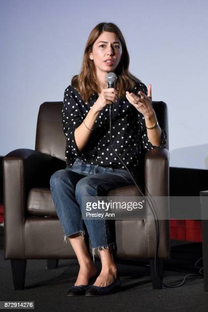 Sofia Coppola speaks onstage during the 'On Directing Sofia Coppola' at AFI FEST 2017 Presented By Audi at TCL Chinese 6 Theatres on November 11 2017...