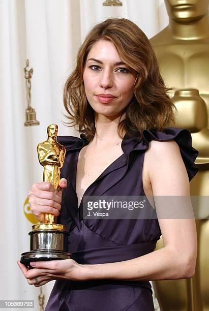 "Sofia Coppola, winner for Best Original Screenplay for ""Lost in Translation"""