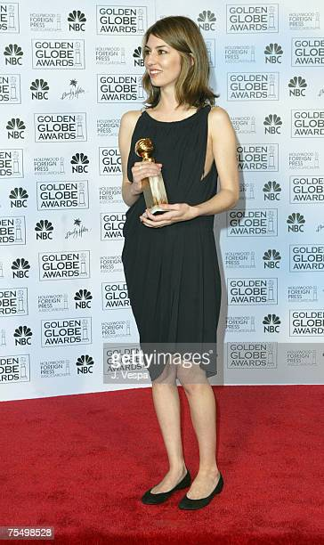 Sofia Coppola winner for Best Screenplay Motion Picture for Lost in Translation at the The Beverly Hilton in Beverly Hills California