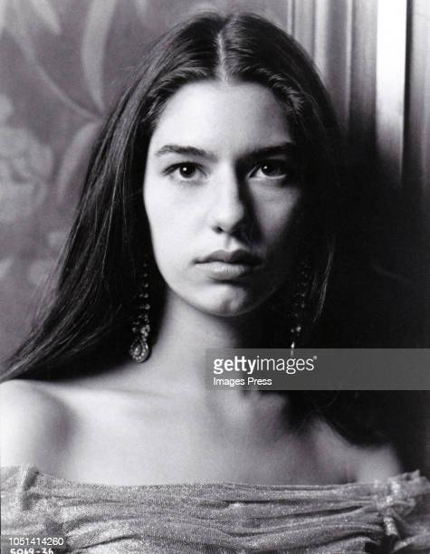 """Sofia Coppolastars as Mary Corleone in paramount's """"The Godfather Part III"""". The epic story of the Corleone family was directed by Francis Ford..."""
