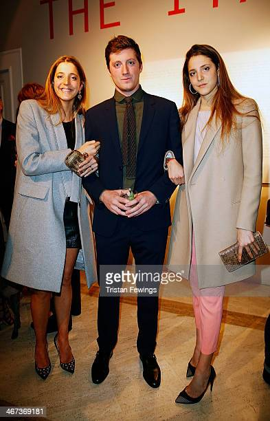 Sofia De Pahlen Marcantonio Brandolini and Anna De Pahlen attend the Cocktail Reception for Anh Duong exhibition Can You See Me and the launch of the...