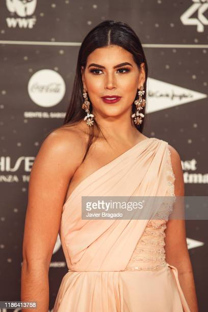 Sofia del Prado attends 'Los40 music awards 2019' photocall at Wizink Center on November 08 2019 in Madrid Spain