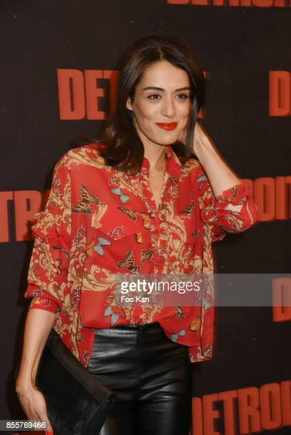 Sofia Essaidi attends the ' Detroit ' Premiere at UGC Normandie on September 29 2017 in Paris France