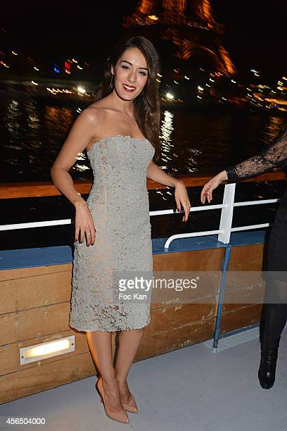 Sofia Essaidi attends the 'For Ever Gentlemen 2' CD Launch at Le Paris boat on October 1 2014 in Paris France