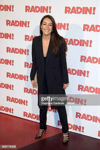 Sofia Essaidi attends the 'Radin' Paris Premiere at Cinema Gaumont Opera on September 22 2016 in Paris France