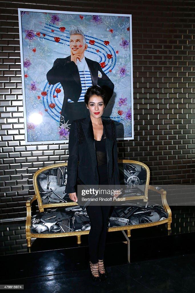 Jean Paul Gaultier : Backstage - Paris Fashion Week - Haute Couture Fall/Winter 2015/2016