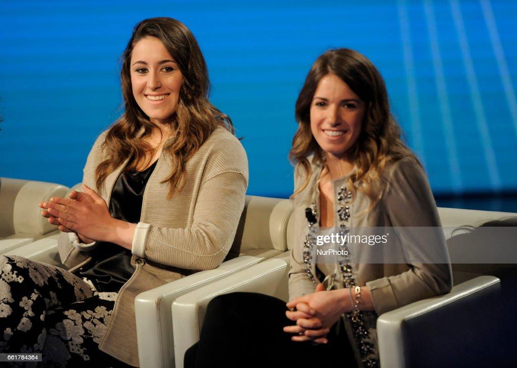 Sofia Goggia Italian Alpine Skier And Marta Bassino Italian Alpine News Photo Getty Images
