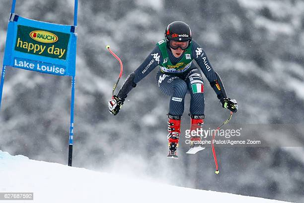 Sofia Goggia of Italy competes during the Audi FIS Alpine Ski World Cup Women's SuperG on December 4 2016 in Lake Louise Canada