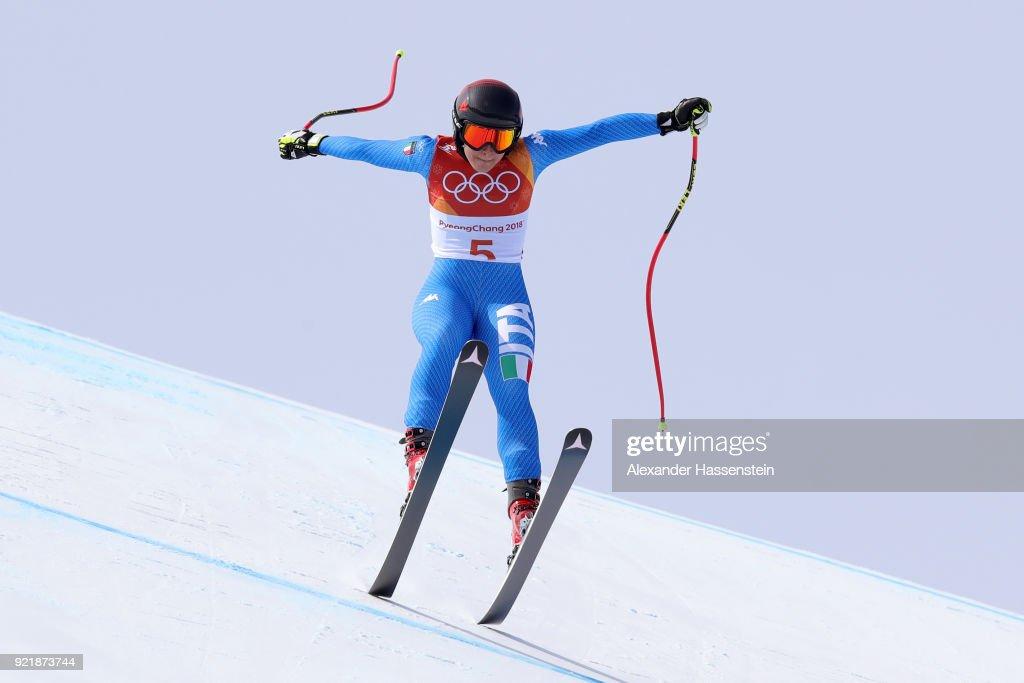 Alpine Skiing Training - Winter Olympics Day 10 : News Photo
