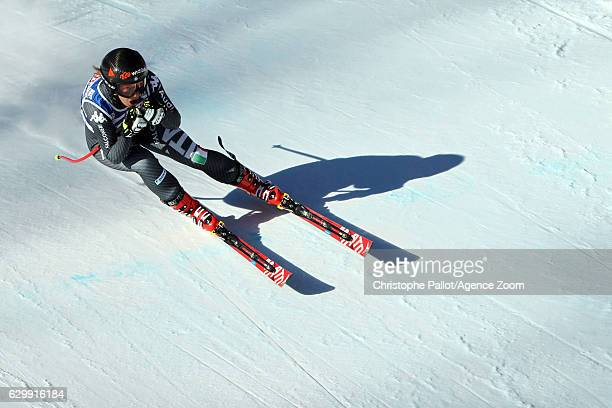 Sofia Goggia of Italy in action during the Audi FIS Alpine Ski World Cup Women's Downhill Training on December 15 2016 in Vald'Isere France