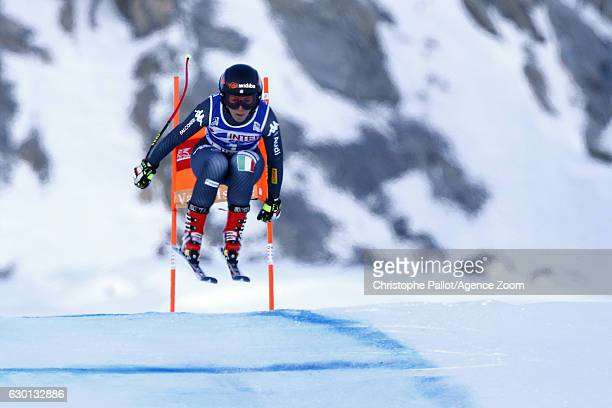 Sofia Goggia of Italy in action during the Audi FIS Alpine Ski World Cup Women's Downhill on December 17 2016 in Vald'Isere France