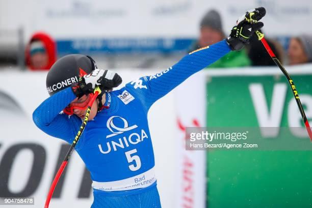 Sofia Goggia of Italy takes 1st place during the Audi FIS Alpine Ski World Cup Women's Downhill on January 14 2018 in Bad Kleinkirchheim Austria