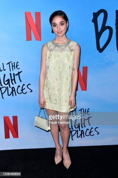 Sofia Hasmik attends the Special Screening of Netflix's All The Bright Places at ArcLight Hollywood on February 24 2020 in Hollywood California