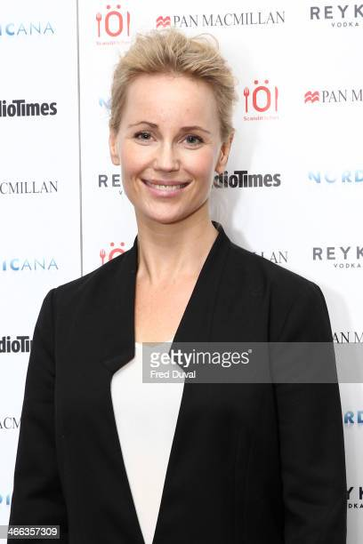 Sofia Helin attend Nordicana 2014 at Old Truman Brewery on February 1 2014 in London England
