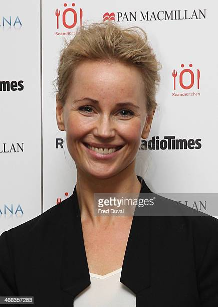 Sofia Helin attends Nordicana 2014 at Old Truman Brewery on February 1 2014 in London England