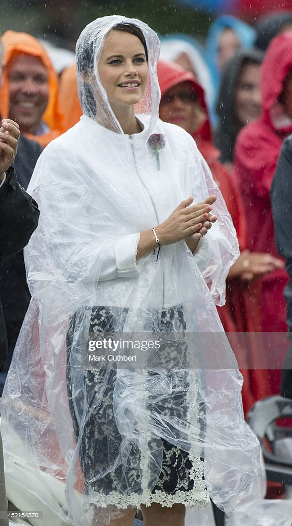 Sofia Hellqvist attends a concert to celebrate the 37th birthday of Crown Princess Victoria of Sweden at Borgholm on July 14, 2014 in Oland, Sweden.