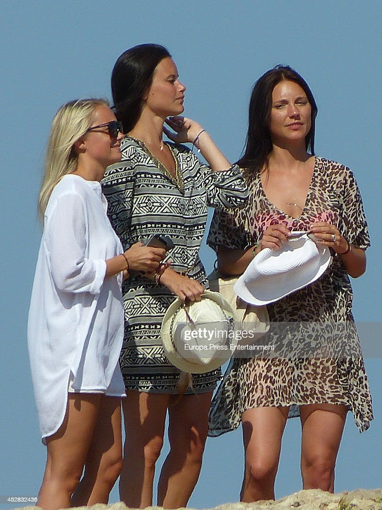 Celebrities Sighting In Ibiza - July 27, 2014 : News Photo