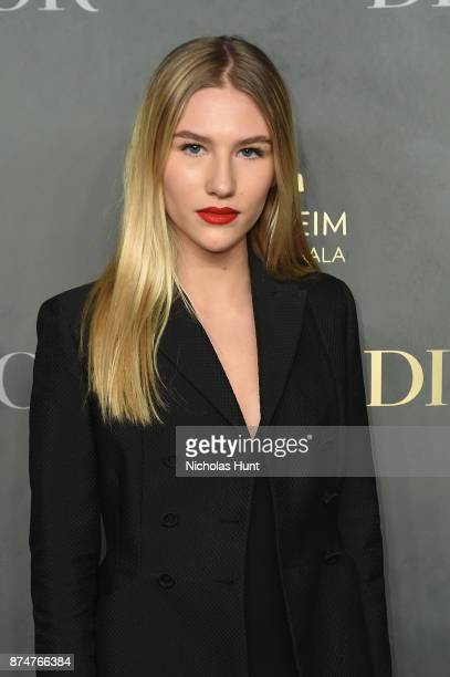 Sofia Hublitz attends the 2017 Guggenheim International Gala PreParty made possible by Dior on November 15 2017 in New York City