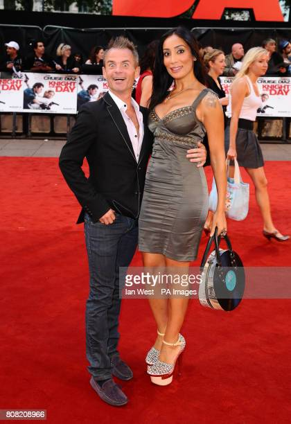 Sofia Hyatt and Julian Bennett arrive at the premiere for new film Knight and Day at the Odeon cinema in London PRESS ASSOCIATION Photo Picture date...