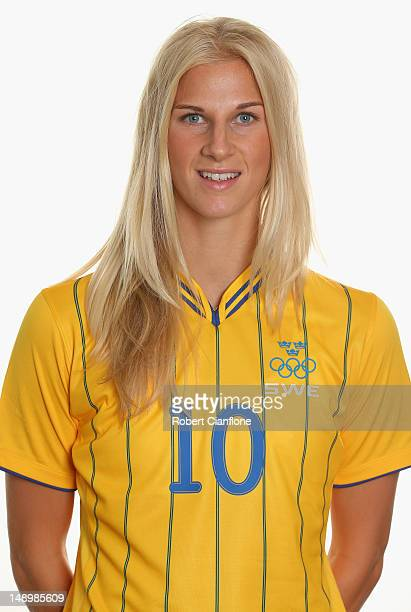 Sofia Jakobsson of Sweden poses for a portrait on July 21 2012 in Coventry England