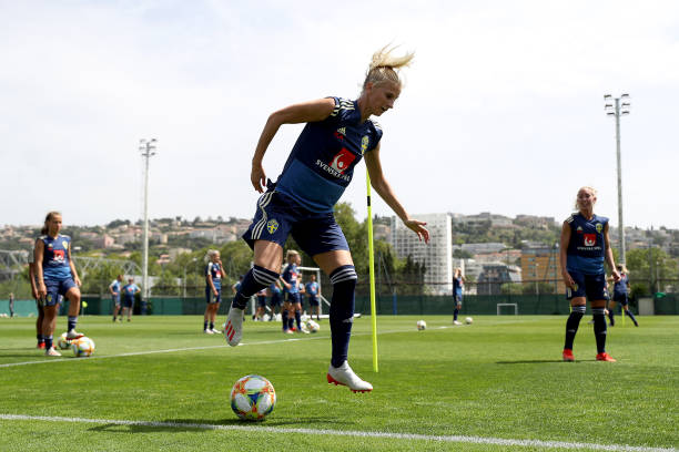 FRA: Sweden Training Session - FIFA Women's World Cup France 2019