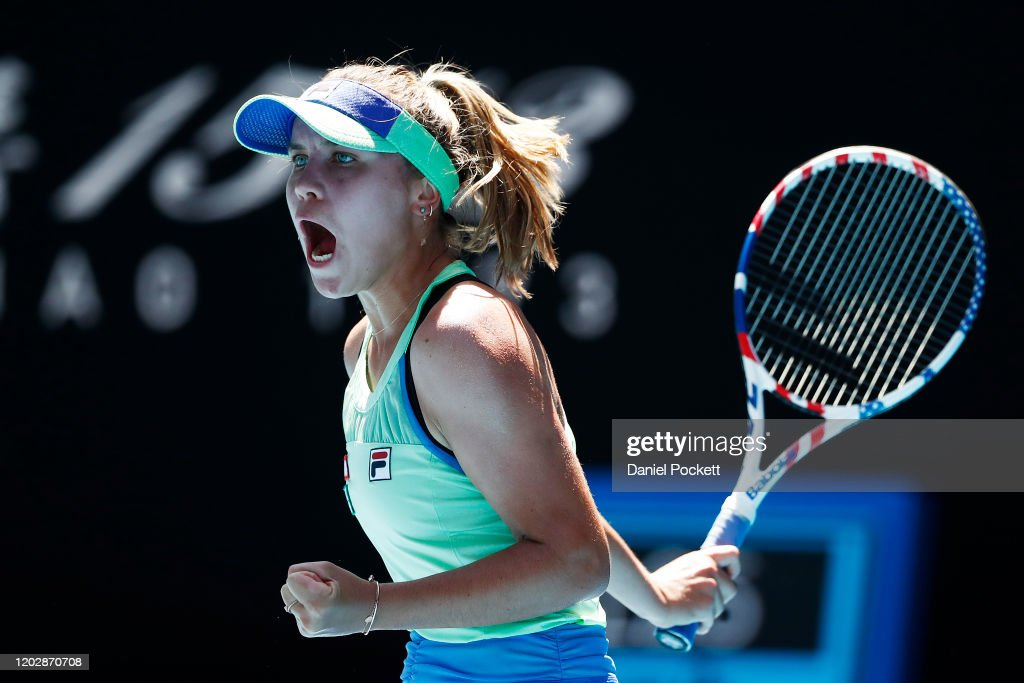 2020 Australian Open - Day 11 : News Photo