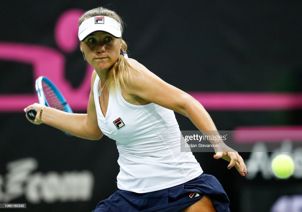 Czech Republic v USA - Fed Cup Final: Day Two : News Photo