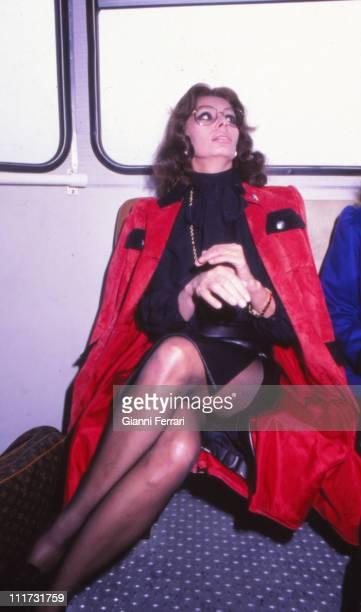 Sofia Loren in Madrid Madrid Spain