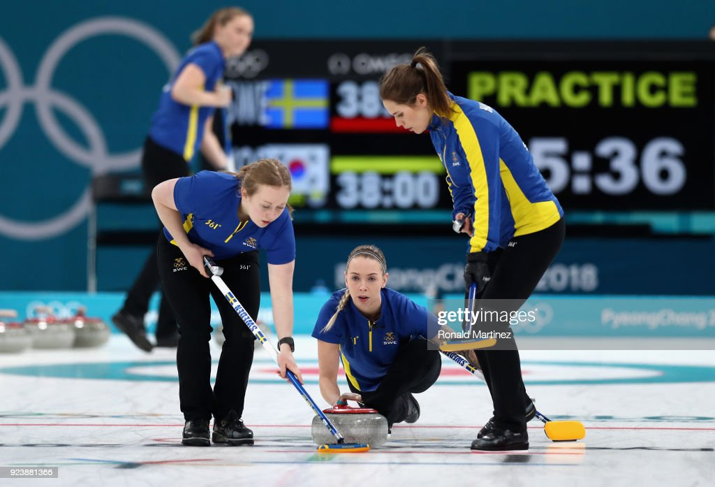 Curling - Winter Olympics Day 16