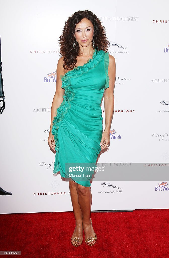 Sofia Milos arrives at the 7th Annual Britweek: BritWeek Design Icon Award presentation held at Christopher Guy West Hollywood Showroom on April 26, 2013 in West Hollywood, California.