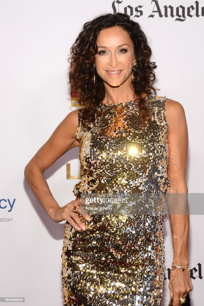 Sofia Milos attends the 2013 Latinos de Hoy Awards at Los Angeles Times' Chandler Auditorium on October 12, 2013 in Los Angeles, California.