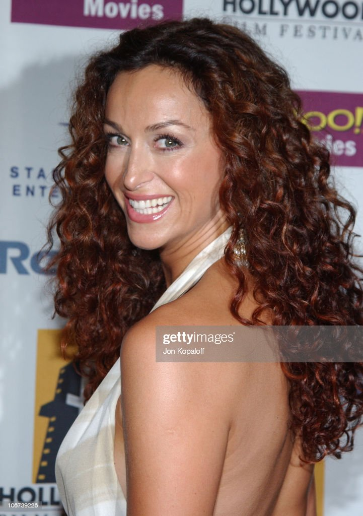 Sofia Milos during ' A Love Song For Bobby Long ' Premiere at The Hollywood Film Festival's Closing Night Gala at The Arc Light Theater in Los Angeles, California, United States.