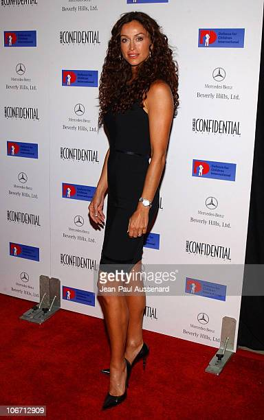 Sofia Milos during Anne Hathaway Oliver Hudson and Anson Mount Host Fundraiser for Defense for Children International Hosted by LA Confidential at...