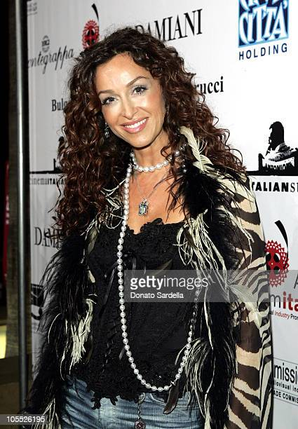 Sofia Milos during Cinema Italian Style Film Festival at Egyptian Theatre in Los Angeles CA United States