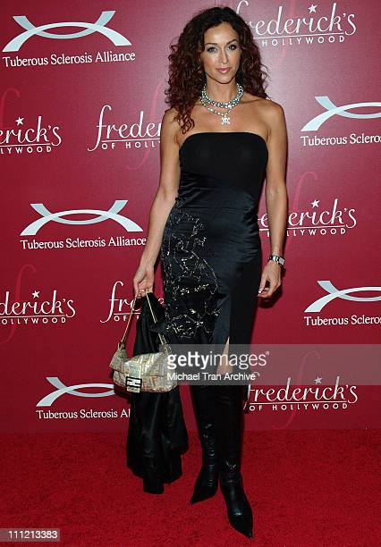 Sofia Milos during Frederick's of Hollywood 2006 Spring Collection Fashion Show at The Avalon in Hollywood California United States