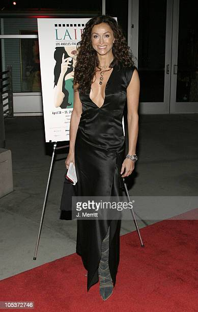 Sofia Milos during LAIFA Italian Film Festival Opening Night at Arclight Cinemas in Hollywood California United States