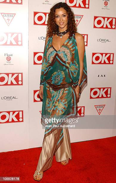 Sofia Milos during Ok! Magazine US Debut Launch Party - Arrivals at LAX in Hollywood, California, United States.