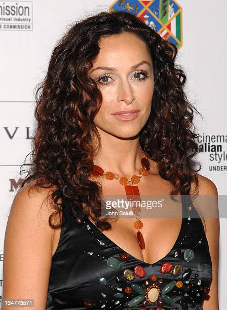 Sofia Milos during Opening Gala of Cinema Italian Style New Films from Italy at Egyptian Theatre in Los Angeles California United States