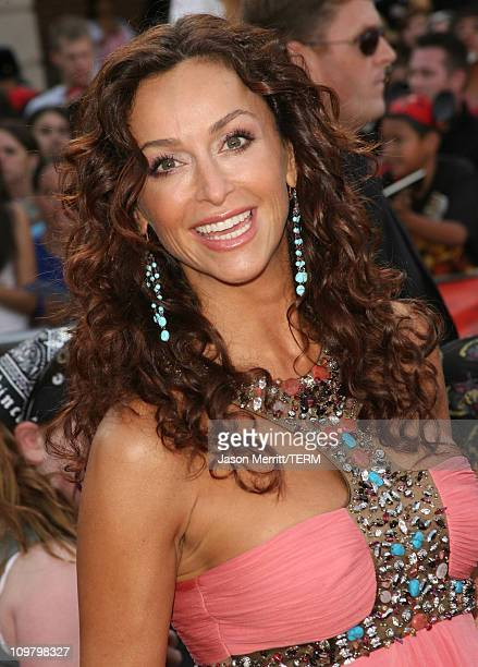 Sofia Milos during Pirates of the Caribbean At World's End World Premiere Arrivals at Disneyland in Anaheim California United States