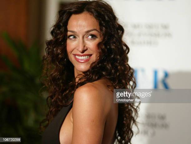 Sofia Milos during The Museum Of Television Radio To Honor CBS News's Dan Rather And Friends Producing Team at The Beverly Hills Hotel in Beverly...